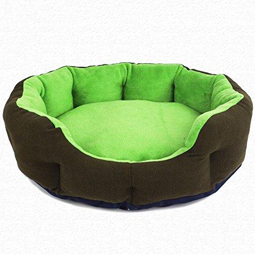 Pet Supplies Four Seasons Pet Cotton Nest, amovible et lavable Nid de chat, petites, moyennes et grandes Dog Nest, cinq couleurs en option ( Couleur : D , taille : L )