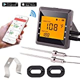 Digital Meat Thermometer, Aidmax Pro03, Bluetooth Wireless Cooking Thermometer with 6 Probes Ports