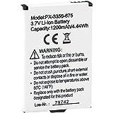 "simvalley MOBILE reserva-batería de 1200 mAh para emergencia-móvil "" XL - 2435,86 cm"