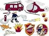 Sigikid 23618 - Frido Firefighter Wallsticker