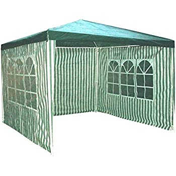 Redstone Outdoors 4 Sides Gazebo 3 X Metre 2 With Windows Garden Marquee