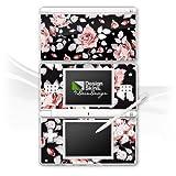 Nintendo DS Lite Folie Skin Sticker aus Vinyl-Folie Aufkleber Rosen