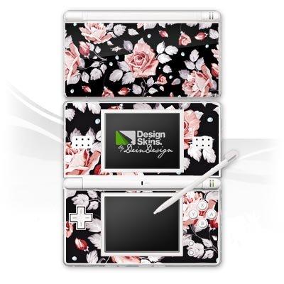 DeinDesign Nintendo DS Lite Folie Skin Sticker aus Vinyl-Folie Aufkleber Rosen Blumen Muster