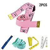 2X Milopon Maßband Tape Measure Craft Tailor Flexible Maßband Profi
