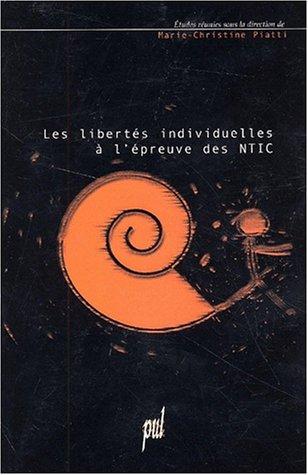 Les libertés individuelles à l'épreuve des NTIC