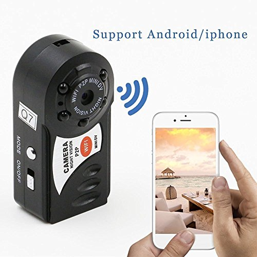 Crazy Deal Wireless Wifi Hidden Spy Security Nanny Camera Camcorder Video Recorder HD DVR remote control