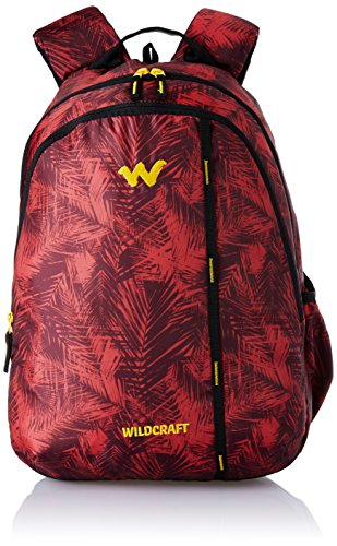 Wildcraft Polyester 35 Ltrs Red School Backpack (WC 1 Foliage...