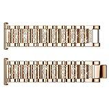 Yallylunn Large Silicone Replacement Watch Band Wrist Strap Geringer intelligenter Stromverbrauch for Fitbit Versa Lite