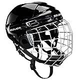 Bauer Helm 2100 Combo mit Gitter - Casco de hockey sobre hielo, color blanco, talla M