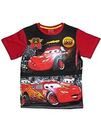 Disney Cars 2 T-Shirt 2017 Kollektion 92 98 104 110 116 122 128 Shirt Kurz Jungen Sommer Neu Lightning McQueen Rot