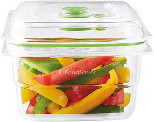 Foodsaver FFC005X - Recipiente para envasar al vacío, 1,2 L