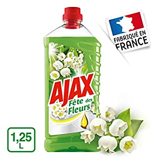 Ajax FDF Floor Cleaner, Lily of The Valley, 1.25 Litre