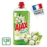 Ajax Produit Ménager Entretien, Nettoyant Sol Multi-surfaces, Fête des Fleurs, Muguet, 1,25 L...