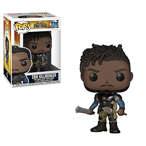 Funko-Figurine-Marvel-Black-Panther-Erik-Killmonger-Pop-10cm-0889698233507