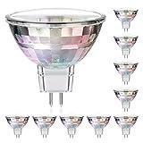 parlat LED Lampe MR16, GU5,3, 1,9 W, 110 lm, 2700 K, 12 V AC, 10 Stück, warm weiß LC-SS-472-WW-x10