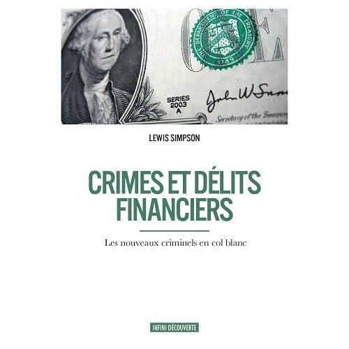 Crimes et délits financiers
