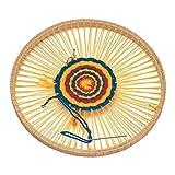 Glückskäfer 540017 Rundwebrahmen, 22 cm (ohne Wolle)