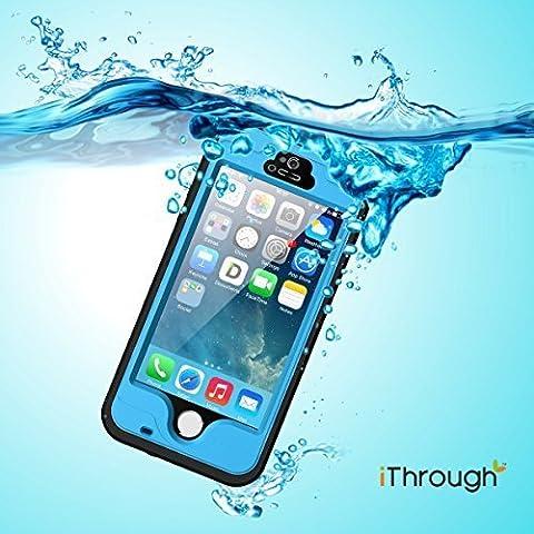 Funda Impermeable para iPhone 5S, iThrough™ Funda Impermeable para iPhone 5, Funda a Prueba de Polvo, de Nieve y de Golpe con Protector, Funda Protectora de Cubierta Para iPhone 5S, iPhone 5