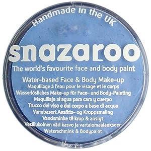 Snazaroo - Maquillaje al agua para cara y cuerpo (30 ml)- color azul pálido