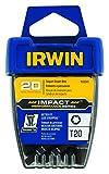 Die besten Irwin Werkzeug Torx-Schraubendreher - Irwin 1899945Impact Performance Serie Schraubendreher-Einsatz-Bit, T20Torx, 1 Bewertungen