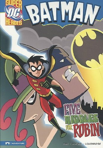 (Batman Five Riddles for Robin) By Dahl, Michael (Author) Paperback on (01 , 2009)