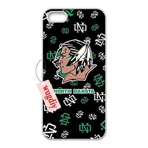 wugdiy Custom Étui pour iPhone 5/5S avec personnalisée Design Fighting Sioux
