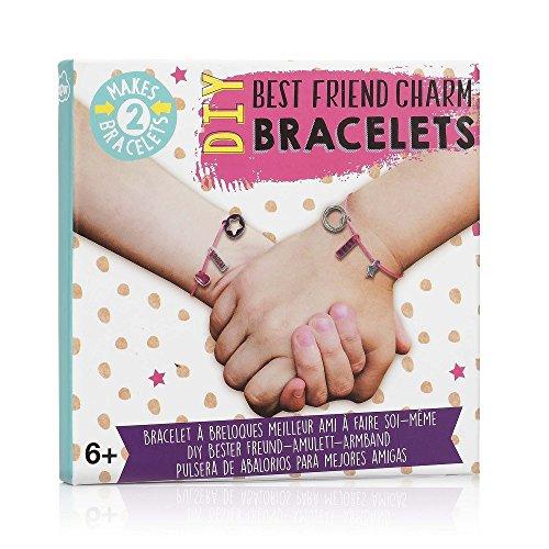 NPW-usa DIY Best Friends Charm Armband Making Kit -