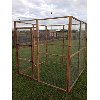 4Fil Walk In Animal Run 6FT Bird Rabbit Chicken Enclosure Outdoor Pet Run by 4Fil