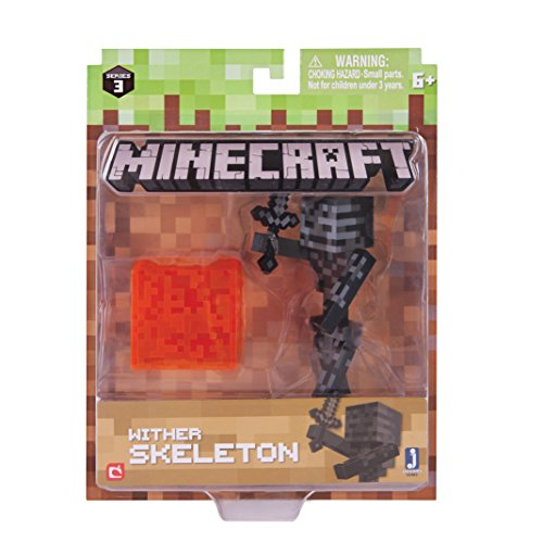 Minecraft 16483 3-Inch Action Figure - Wither Skeleton Pack