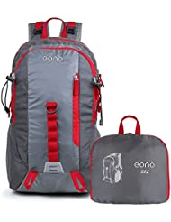 Amazon Brand: Eono Essentials 35L Foldable Rucksack Lightweight Hiking Backpack with Waterproof Rain Cover
