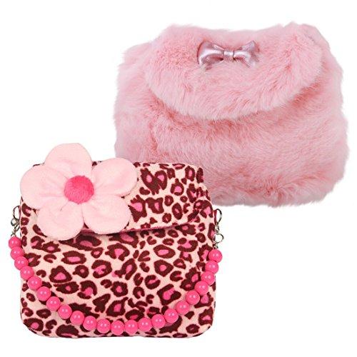 kilofly ,  Mädchen Umhängetaschen, rosa - Set2 A - Größe: One Size -