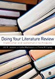 Electronic Inspection Copy available for instructors hereThe literature review is a compulsory part of research and, increasingly, may form the whole of a student research project. This highly accessible book guides students through the production of...