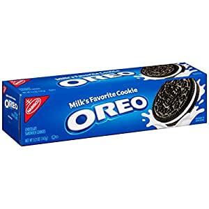 Oreo Chocolate Sandwich Cookies, 5.2-ounce Box (pack Of 12)