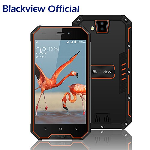 Blackview BV4000pro Android 7.0, Dual-SIM Outdoor Handy Ohne Vertrag, 4,7