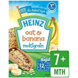 Heinz Petit Avoine Et Banane 7 Mths + 120G - Paquet de 6