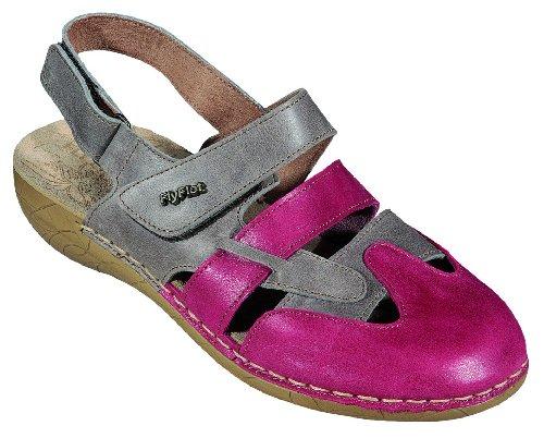 FlyFlot-pantolette 390375, sandales femme - granat/komb.