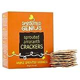 6x Sprouted Genie Amaranth Cracker 90G