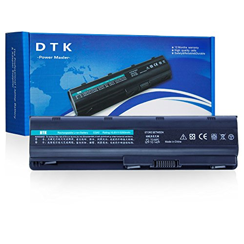 Dtk® extra Hochleistung Notebook Laptop Batterie Li-ion Akku für Hp G32 G42 G62 G72 G4 G6 G6t G7 ; Compaq Presario Cq32 Cq42 Cq43 Cq430 Cq56 Cq62 Cq72 ; Hp Pavilion Dm4 ; fits Mu06 593553-001 593554-001 Mu09 Hstnn-lb0w 636631-001 593550-001 DE