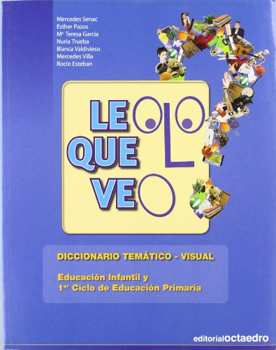 Leo lo que veo: Diccionario temático-visual (Referencias) - 9788480639583