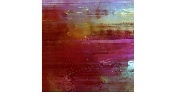 /5/x 15/cm Teller/ /gebeizt Glas/ Mosaik Craft/ /yzr314/Himmel blau Perlglanzeffekt