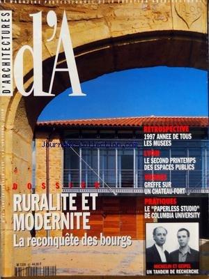 ARCHITECTURES (D') [No 81] du 01/03/...