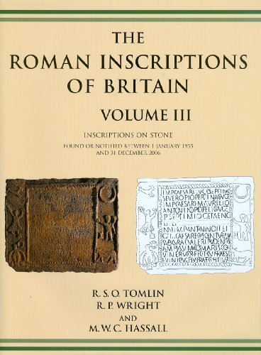 Roman Inscriptions of Britain: Inscriptions on Stone (1955-2006) v. 3 by M.W.C. Hassall (2009-07-01)