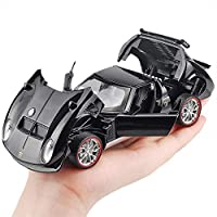 Product Descriptions: For Classic 1:32 Miura model car; children's toy gift; collection model.Car door and front and rear engine hoods can be opened with sound, light and pull back function.Size is about 16*6.5*4cm/6.29*2.55*1.57inPacking List: Toy c...