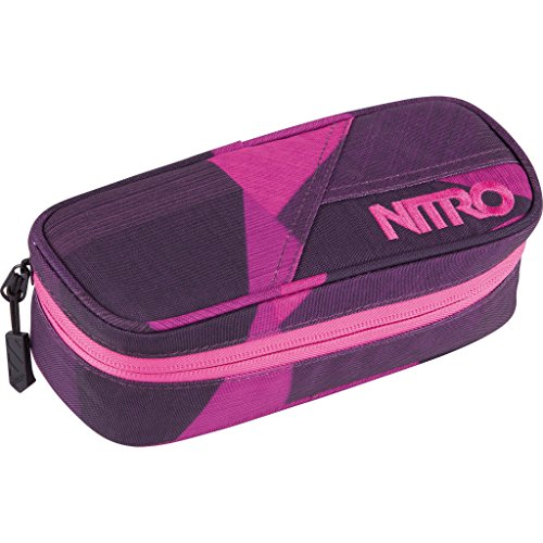 Nitro Snowboards Uni Mäppchen Pencil Case Fragments Purple 20 cm x 8 cm x 6 cm