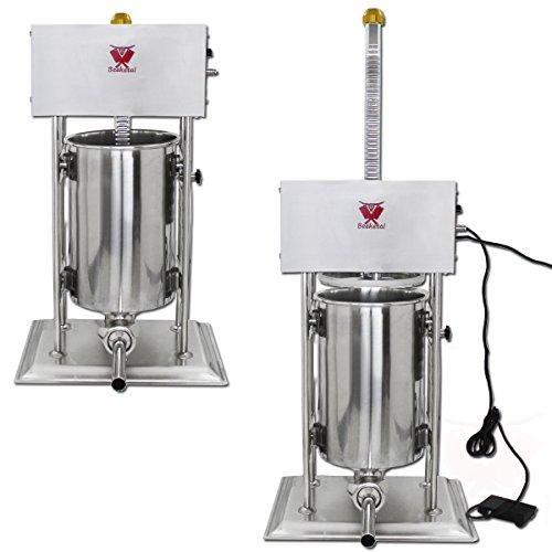 Wurstfüller Rückwärtsgang 1500 Watt elektrischer Fleischwölfe mit Wurstaufsatz