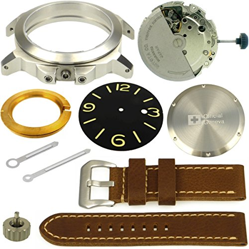 Uhrenbausatz OFFICIAL GENEVA No.4 Armbanduhr 1950