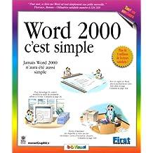 Word 2000, c'est simple