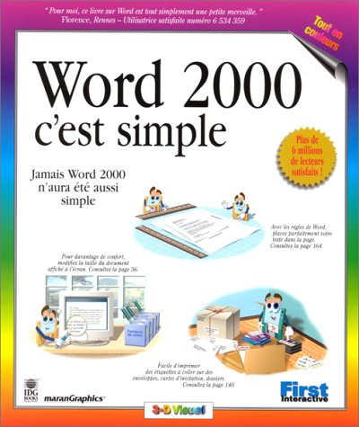 Word 2000, c'est simple