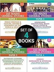 IAS Mains General Studies (Paper-1,2,3,4) Paperback – 2017