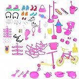98Stück Spielzeug Kinder spielen Haus Spiel Spielzeug für Barbie Mini-Tools